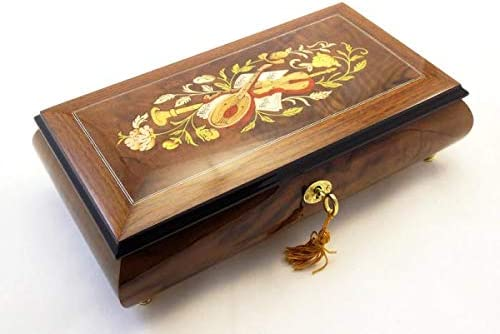 Made in Italy Sorrento Musical Inlay Tulsa Mall Theme T Music - Jewelry Luxury Box