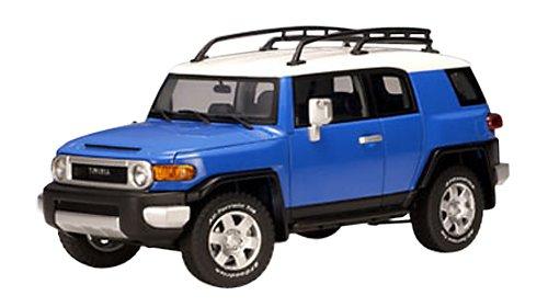 AUTOart 2007 Toyota FJ Cruiser diecast Model car 1:18 Scale die cast Blue 78855