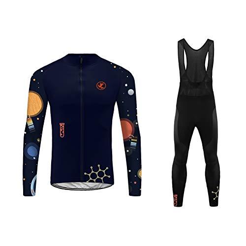 Sports Wear Uglyfrog MTB Invierno más Cachemir Conjunto Ciclismo Hombre Traje Bicicleta...