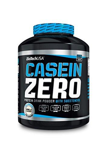 Biotech Usa Casein Zero 2,27 kg fresa
