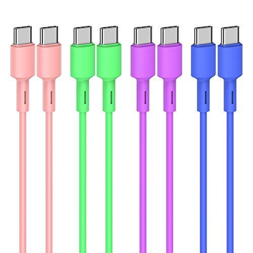 Cable USB C (8Pack 1M) USB Tipo C Cargador de Cable Tipo-C...