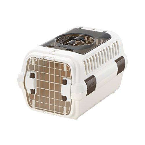 リッチェル キャンピングキャリーダブルドア Sサイズ 超小型犬・猫用 アイボリー