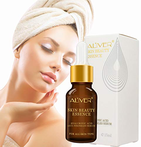 Anti Aging Hyaluronic Acid Serum for Face and Body, With Collagen, Moisturizing & Brightening your skin, acne scar remove face serum by Aliver 15ml