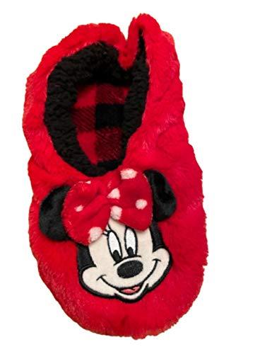 Disney Minnie Mouse - Zapatillas para casa con diseño de Minnie Mouse