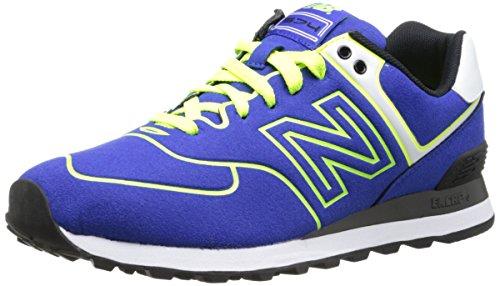 New Balance WL 574 NEB Blue Neon Yellow 37.5