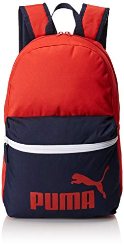 PUMA Phase Backpack Rucksack, Ribbon Red-Peacoat, OSFA