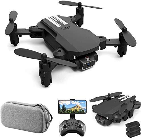 LS-MIN Mini Drone Quadcopter 480P Cámara 360deg 13mins Tiempo de vuelo;Flip-6 Axis Gyro gesto Photo vídeo vuelo Track Altitud Hold sin cabeza de control remoto aviones no tripulados for adultos de los