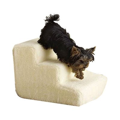 Foam 3 Step Portable Dog Stairs