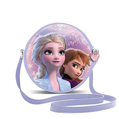 KARACTERMANIA Die Eiskönigin (Frozen) Wind-3D Runde Schultertasche