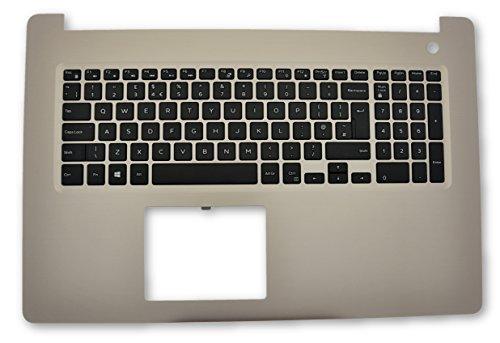 Dell Inspiron 17 5770 Gold Palmrest & UK English Keyboard X7R3D XFR25 R0G9T
