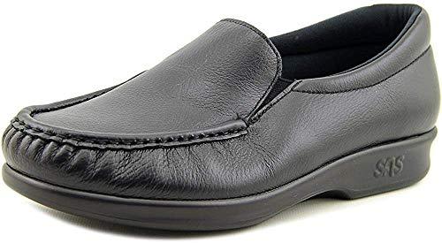 SAS Women's, Twin Slip-On Black 7 W