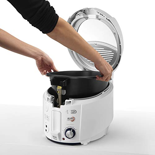 DeLonghi F 38436 Roto Fritteuse, weiß - 7