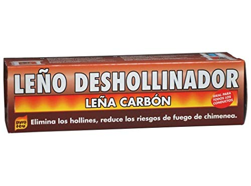 Pyro Feu Leño Deshollinador Ecológico 1.100 Gramos