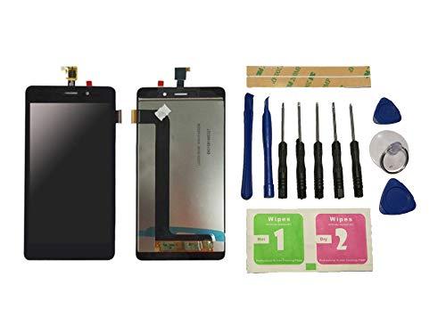 Flügel para Wiko Pulp Fab 4G Pantalla LCD Pantalla Negro Táctil digitalizador Asamblea Pantalla (sin Marco) de Recambio & Herramientas