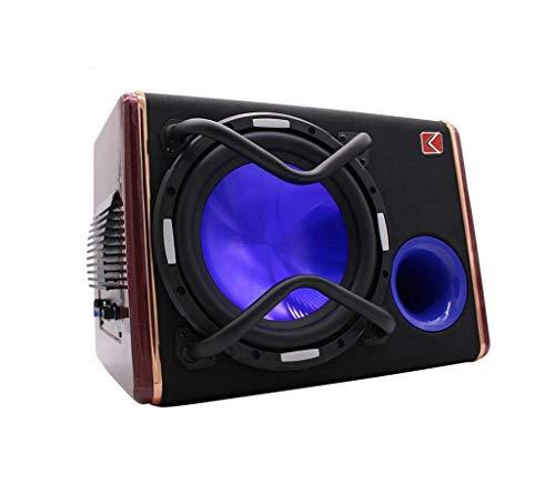 Auto Audio subwoofer, auto radio, 1200 W 10 inch 12V versterker Car Audio modieuze luidspreker