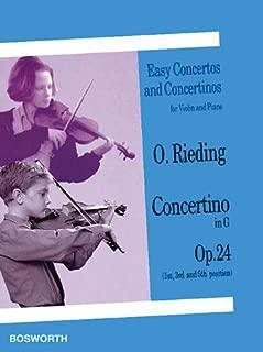 Best rieding violin concerto g major Reviews