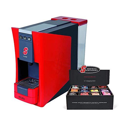 Essse Caffè – Macchina S.12Rossa, design by Giugiaro Design con Kit degustazione 36 capsule