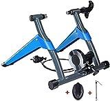 LXLH Entrenador de Bicicletas para Ciclismo en Interiores, Entrenador de Ejercicios Entrenador Turbo magnético para Bicicleta - Soporte para Entrenador de Bicicletas - con regulador de Control de