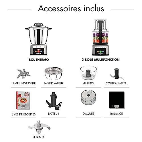 Magimix – Cook Expert Premium XL 18909 Robot Cuiseur Multifo