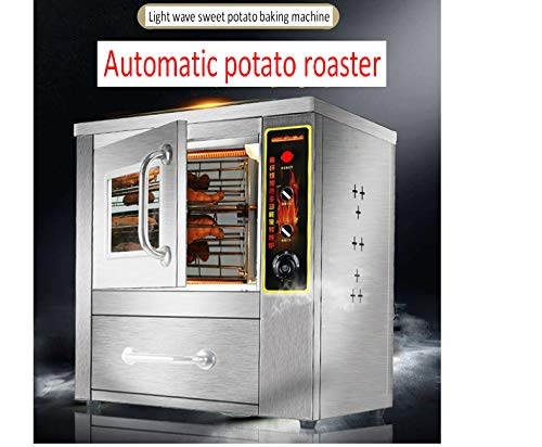 Buy Discount TX® Commercial Stainless Steel Roasted Sweet Potato Oven 2500W Electric Corn Roaster B...