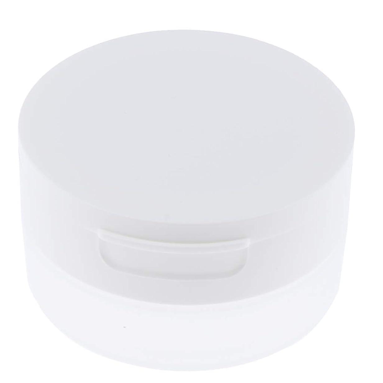 影響脳噂Perfeclan ルースパウダーケース 旅行 空ケース メイクアップ パウダー 容器 ポット 2サイズ選べ - 50g