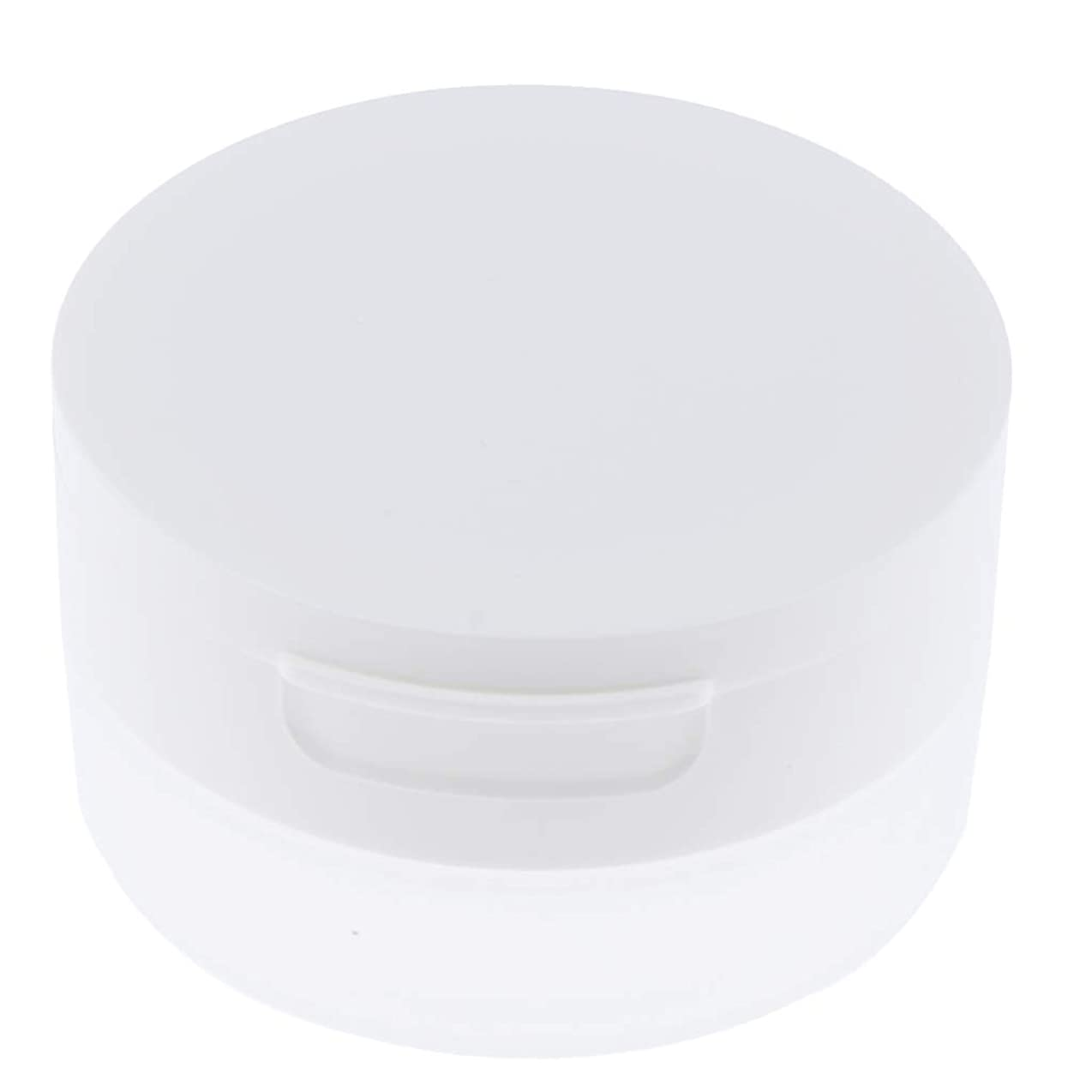 Perfeclan ルースパウダーケース 旅行 空ケース メイクアップ パウダー 容器 ポット 2サイズ選べ - 50g