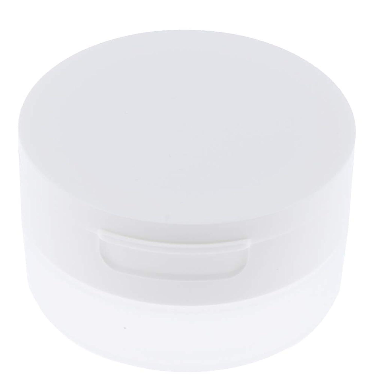 リゾート伝染病補正Perfeclan ルースパウダーケース 旅行 空ケース メイクアップ パウダー 容器 ポット 2サイズ選べ - 50g
