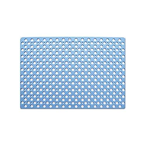 YAOQI Alfombrilla antideslizante multiusos con patrón de rejilla de PVC, antideslizante, antideslizante, para el hogar, oficina, coches, caravanas