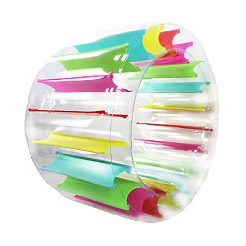 Chlius - Ruota gonfiabile per piscina, grande, galleggiante, giocattolo multifunzione, gonfiabile, per piscina, spiaggia, prato, 100 x 65 cm