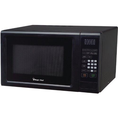 Magic Chef MCM1110B Black Countertop Microwave 1.1 Cu ft 1000W W/Digital Touch Home & Garden