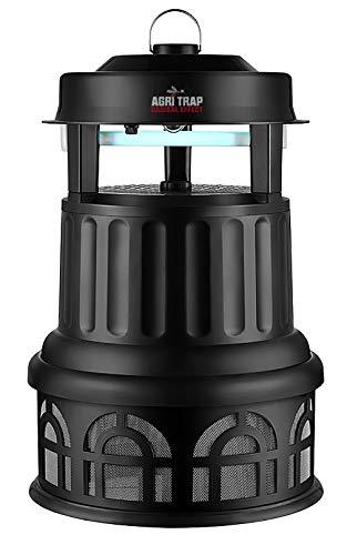 AGRITRAP Jupiter Lámpara Antimosquitos Eléctrico Exterior 3000m2 - Antimoscas, Polillas, Avispas, Insectos - Hogar, Oficina, Jardín Lámpara Eléctrica Exterior Mata Moscas