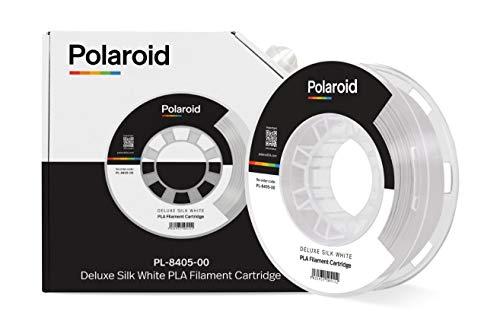 Polaroid Universal Deluxe Silk PLA Filament 250 g White
