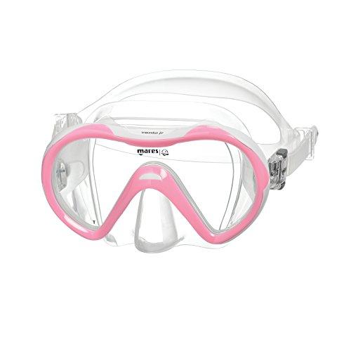 Mares Vento Jr. - Gafas de Buceo Unisex, Color Rosa/Blanco, Talla GU