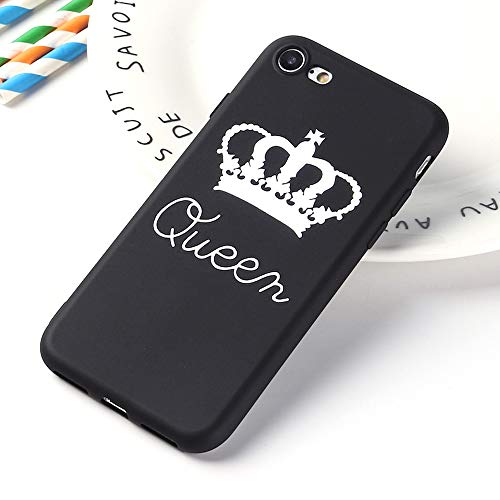 APHT King&Queen&Honey&Boss Phone Custodia Protective TPU Bumper Case Protettiva per Apple iPhone 5-11 PRO Max