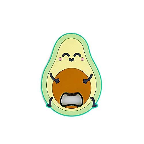 Balvi flesopener MrWonderful Avocado Magnetisch Shaped avocado plastic