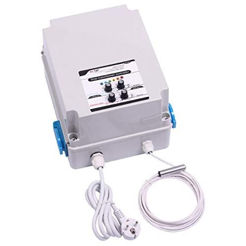 GSE Stufentrafo 8 A Temperatur & Luftfeuchtigkeit Anschluss für 2 Lüfter - Ventilator Lüftersteuerung Lüfter Rohrlüfter Motor Grow Anbau Indoor