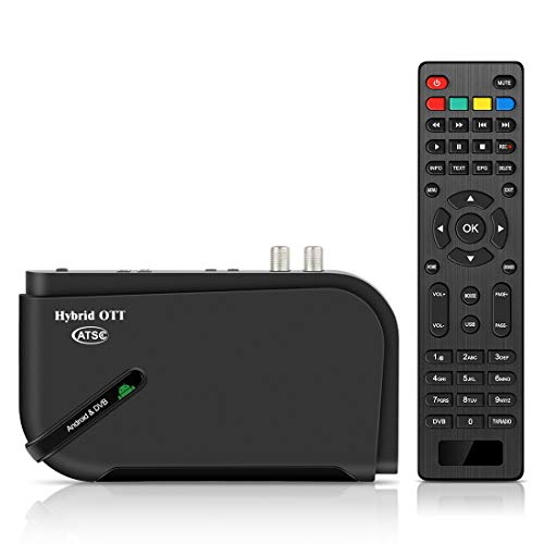 Review Of Android TV Box, 4K HD ATSC Converter Box for Recording PVR, USB Multimedia Playback, Web B...