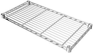 ルミナス ポール径19mm用パーツ 棚板 スチールシェルフ(耐荷重150kg)ワイヤー幅方向 1枚(スリーブ付き) 幅59.5×奥行29.5cm ST6030