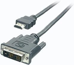 Teccus HDMI Cable, HDMI Male to DVI Male, 2m