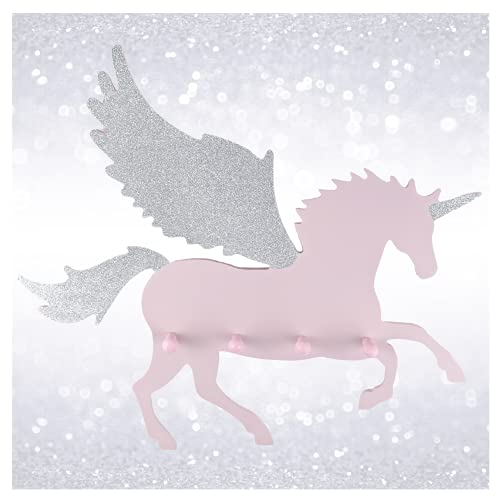 Unicornio perchero de madera para niños – Perchero infant