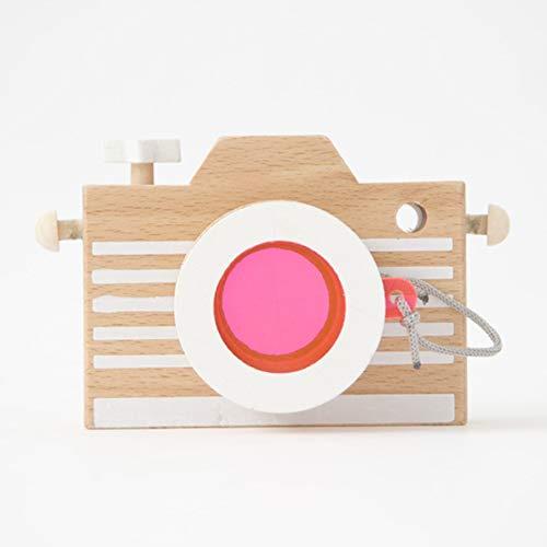 kiko+ Kaleidoscope Wooden Camera (Pink)