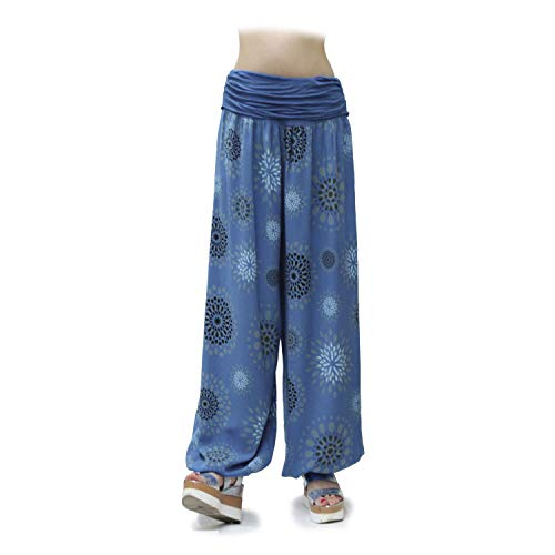 Gloop HS201701 - Pantalones bombachos para mujer, de...