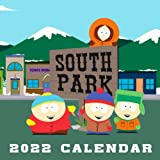 South Park 2022 Calendar: Cartoon Movie Tv Series Squared Monthly Calendar Mini Planner January 2022 to December 2022 bonus last 4 months 2021   Classroom, Home, Office