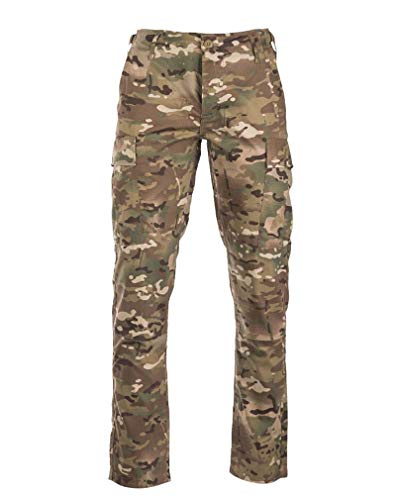 Mil-Tec US BDU Hose R/S Slim Fit multitarn® Gr.XL