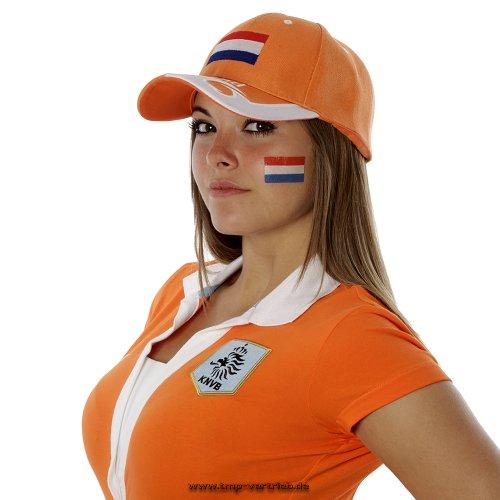 25 x Niederlande Tattoo Fan Fahnen Set - Holland The Netherlands temporary tattoo Flag (25)