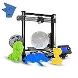 Anet A8 Plus DIY 3D-Drucker verbessert Hochpräzise Selbstmontage 300 * 300 * 350mm Große Druckgröße Aluminiumlegierung Rahmen Bewegliches LCD-Bedienfeld Überstromschutz Mainboard