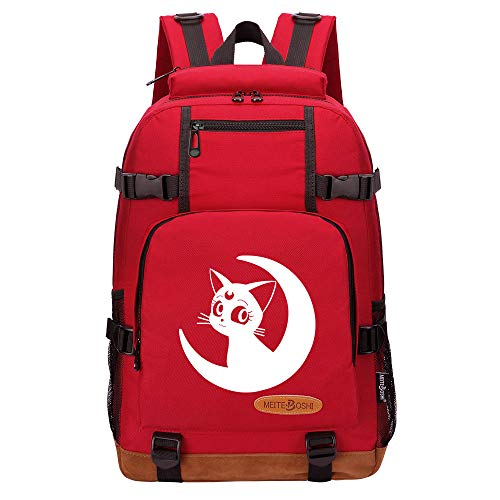 Leegt Hombres Y Mujeres Unisex Sailor Moon 17 Inches Out Of Office Mochila Unisex Adulto Unisex