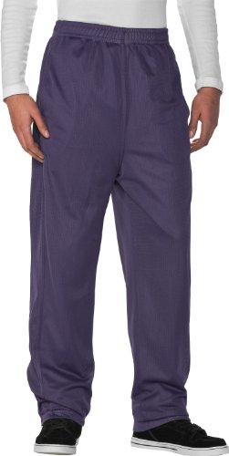 Urban Classics Mesh Long Pantalon de Sport Purple,