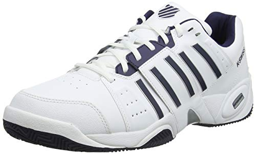 K-Swiss Performance Accomplish Iii, Scarpe da Tennis Uomo, Bianco (White/Navy 109-M), 45 EU