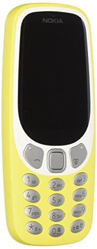 "Nokia 3310 (2017) Telefono Cellulare, Display 2.4"" a Colori, Bluetooth, Fotocamera, Giallo [Italia]"